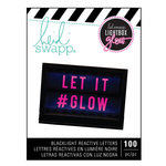 Heidi Swapp - LightBox Glow Collection - Mega Pack - Alphabet - Pink