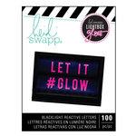 Heidi Swapp - LightBox Glow Collection - Mega Pack - Alphabet - Pink
