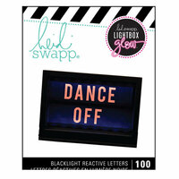Heidi Swapp - LightBox Glow Collection - Mega Pack - Alphabet - Orange