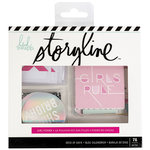 Heidi Swapp - Storyline 2 Collection - Deck of Days - Girl Power with Foil Accents