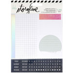 Heidi Swapp - Storyline 2 Collection - Sticker Kit - Journaling - Travel with Foil Accents