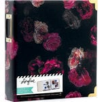 Heidi Swapp - Storyline 2 Collection - 8.5 x 11 D-Ring Album - Dark Floral