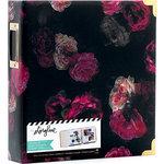 Heidi Swapp - Storyline 2 Collection - 8.5 x 11 D-Ring Album - Dark Floral