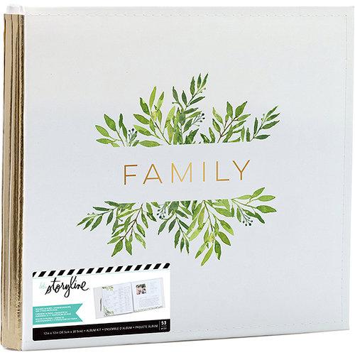 Heidi Swapp - Storyline 2 Collection - 12 x 12 Post Bound Album - Family