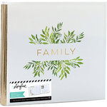 Heidi Swapp - Storyline 2 Collection - 12 x 12 Post Bound Album - Family