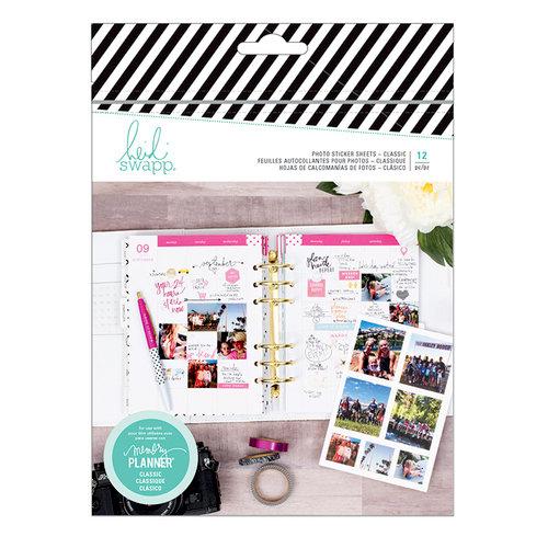 Heidi Swapp - Fresh Start Collection - Memory Planner - Photo Sticker Sheets - Classic