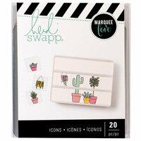 Heidi Swapp - LightBox Collection - Icons - Plant Lady