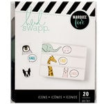 Heidi Swapp - LightBox Collection - Icons - Talking Animals