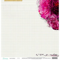 Heidi Swapp - Hawthorne Collection - 12 x 12 Double Sided Paper - Hayden