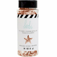 Heidi Swapp - Hawthorne Collection - Foil Flakes - Rose Gold