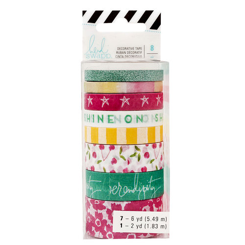 Heidi Swapp - Storyline 2 Collection - Washi Tape - Shine On with Glitter Accents