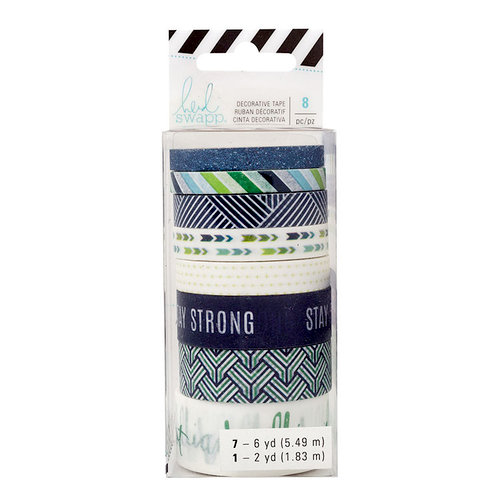 Heidi Swapp - Storyline 2 Collection - Washi Tape - Stay Strong with Glitter Accents