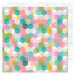 Heidi Swapp - Pineapple Crush Collection - 12 x 12 Double Sided Paper - Good Vibes