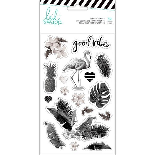 Heidi Swapp - Pineapple Crush Collection - Clear Stickers