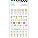 Heidi Swapp - Pineapple Crush Collection - Puffy Stickers