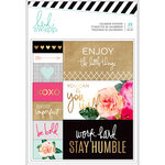 Heidi Swapp - Planner - Calendar Stickers with Foil Accents - Back to School
