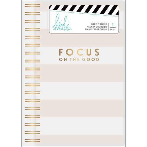 Heidi Swapp - Day Planner with Foil Accents - Personal - Focus On The Good - Undated