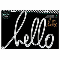 Heidi Swapp - Neon Glow - Wall Word - Hello