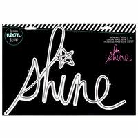 Heidi Swapp - Neon Glow - Wall Word - Shine