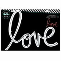 Heidi Swapp - Neon Glow - Wall Word - Love