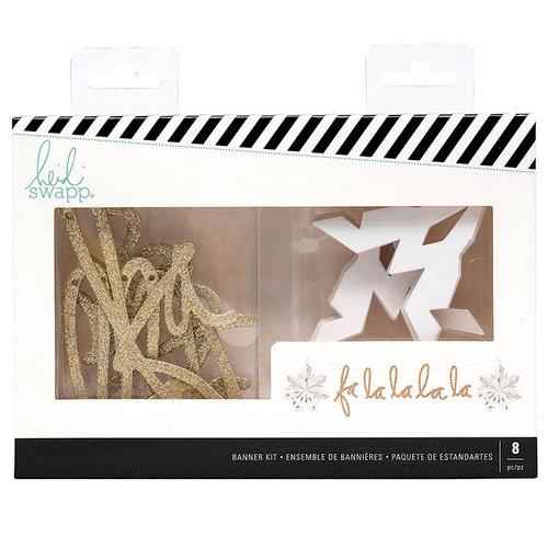 Heidi Swapp - City Sidewalks Collection - Christmas - Banner Kit - Falala
