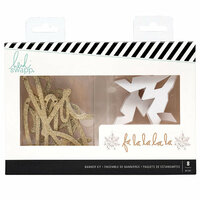 Heidi Swapp - City Sidewalks Collection - Christmas - Banner Kit - Falala