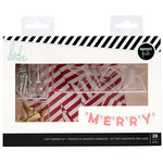 Heidi Swapp - City Sidewalks Collection - Christmas - Banner Kit - Merry