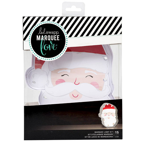 Heidi Swapp - Marquee Love Collection - City Sidewalks - Christmas - DIY Marquee Kit - Santa