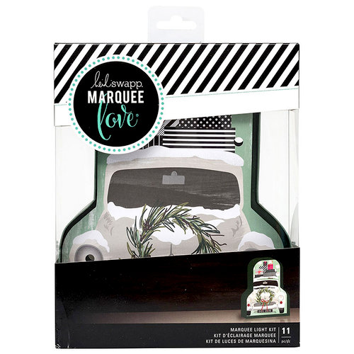 Heidi Swapp - Marquee Love Collection - City Sidewalks - Christmas - DIY Marquee Kit - Truck