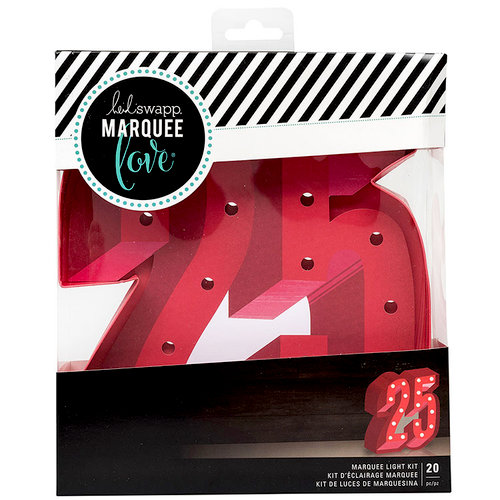 Heidi Swapp - Marquee Love Collection - City Sidewalks - Christmas - DIY Marquee Kit - 25