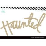 Heidi Swapp - Halloween - MDF Wall Words - Haunted