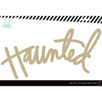 Heidi Swapp - Halloween - MDF Wall Words - Haunted