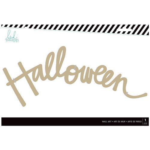 Heidi Swapp - MDF Wall Words - Halloween