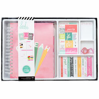 Heidi Swapp - Color Fresh Collection - Memory Planner - Planner - Classic - Box Kit - Oh Yeah - Undated