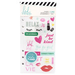 Heidi Swapp - Color Fresh Collection - Memory Planner - Sticker Book