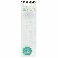 Heidi Swapp - Color Fresh Collection - Memory Planner - Alphabet Ruler