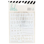 Heidi Swapp - Color Fresh Collection - Memory Planner - Stencils
