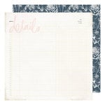 Heidi Swapp - Emerson Lane Collection - 12 x 12 Double Sided Paper - Details