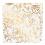 Heidi Swapp - Emerson Lane Collection - 12 x 12 Vellum Paper with Foil Accents - Floral