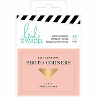 Heidi Swapp - Emerson Lane Collection - Photo Corners with Foil Accents