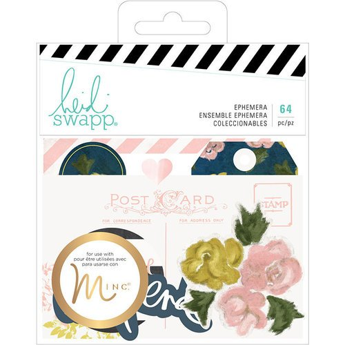 Heidi Swapp - Emerson Lane Collection - Ephemera with Foil Accents
