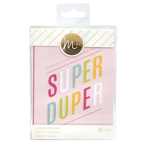 Heidi Swapp - MINC Collection - Reactive Card Kit