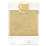 Heidi Swapp - MINC Collection - Glitter Sheets - 6 x 8 - Gold