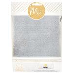 Heidi Swapp - MINC Collection - Glitter Sheets - 6 x 8 - Silver