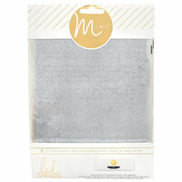 Heidi Swapp - MINC Collection - Glitter Sheets - 6 x 8 - Silver