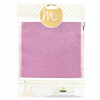 Heidi Swapp - MINC Collection - Glitter Sheets - 6 x 8 - Pink