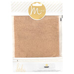 Heidi Swapp - MINC Collection - Glitter Sheets - 6 x 8 - Rose Gold