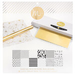 Heidi Swapp - MINC Collection - Reactive Paper Pad - 12 x 12 - White - 24 Pack