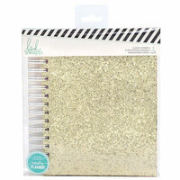 Heidi Swapp - Color Fresh Collection - Memory Planner - Planner - Classic - Gold Glitter - Undated