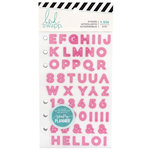 Heidi Swapp - Color Fresh Collection - Memory Planner - Alphabet Sticker Book